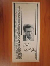 Vtg Wire Ap Press Photo Martin Sheen Actor Apocalypse Now, West Wing, Way #4