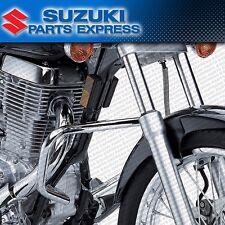 NEW 2005 - 2016 GENUINE SUZUKI BOULEVARD S40 CHROME ENGINE GUARDS CRASH BARS