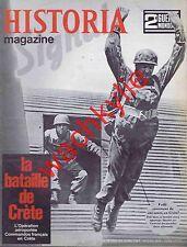 Historia magazine ww2 n°19 bataille de Crète