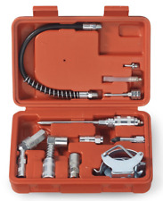 Grease Gun Lubrication Aid Kit Fittings Lube Attachments Needle Flex Hose