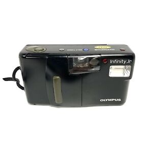 Olympus Infinity Jr. 35mm Point & Shoot Film Camera Tested Working