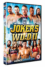 New & Sealed TNA Wrestling Joker's Wild II DVD - Bully Ray, Samoa Joe, Aries