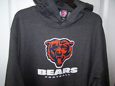 Chicago Bears Gray Hooded  Sweatshirt Hoody  Large  New w Tags Free Shipping