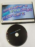 PET SHOP BOYS SOMEWHERE IN CONCERT DVD 90 min PAL REGION 0 ALL REGIONS SPAIN