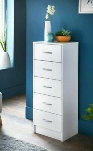 *NEW* Chest of 5 Drawers Cabinet Storage (Easy self Assembly)W40 x D30 x H100