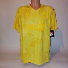Nike Mens Skateboarding Jersey Golden Yellow 10 Short Sleeve Dri Fit Large