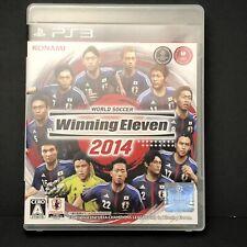 PS3 World Soccer Winning Eleven 2014 Konami Complete Very Good