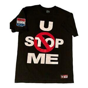 John Cena U CAN'T STOP ME C ME BLUE WWE Authentic T-Shirt OFFICIAL
