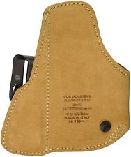 BLACKHAWK! Tuckable Brown Holster, Size 01, Right Hand (2-inch 5 Shot revolver)