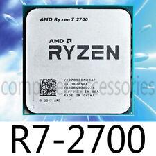 AMD Ryzen 7 2700 R7-2700 3.2 GHz 8-Core 16-Thread 16M Socket AM4 CPU Processor