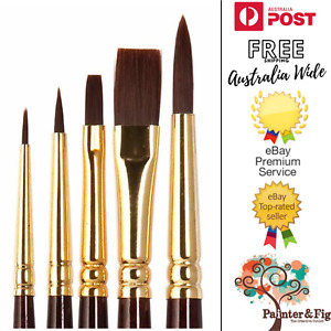 Winsor & Newton Acrylic Paintbrushes - Galeria Brushes