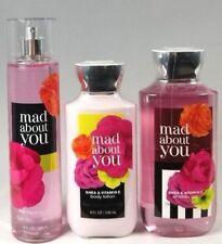 Bath & Body Works MAD ABOUT YOU Fragrance Mist Lotion Shower Gel 3 pc Set -