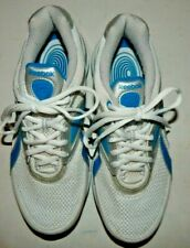 Reebok EasyTone Womens White w/ Blue/Silver Trim Sneakers Shoe Size 7