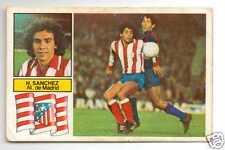 LA LIGA 82/83 Hugo Sanchez CROMO FICHAJE Atletico De Madrid MEJOR DE Mexico