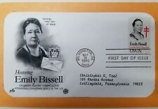 #1823 15c Emily Bissell,  First day issue cachet & stamp mounted in commem page