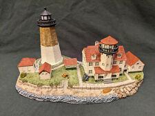 1998 Harbour Lights Point Judith Rhode Island Ri Lighthouse Figurine