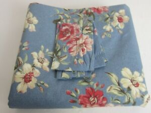 "2 NEW Vintage Laura Ashley Hampshire Tie Back Curtain Cottage Floral 41"" x 84"""