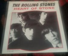 """ROLLING STONES """"HEART OF STONE"""" 7"""" PICTURE SLEEVE MEGA RARE 45 RPM"""