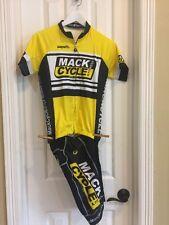 Safetti Cycling Jersey & Shorts Woman's Yellow Black & White