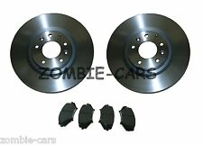 MAZDA RX8 FRONT BRAKE DISCS AND BRAKE PADS 323mm 07/03-12/10 100% QUALITY PARTS
