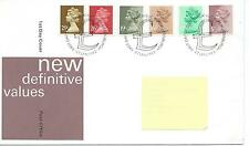 wbc. - GB - FIRST DAY COVER - FDC - DEFINITIVES -1982 - 6 vals to 29p - Pmk PB