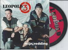 LEOPOLD 3 - Mijn redding CD SINGLE 2TR CARDSLEEVE 1994 BELGIUM