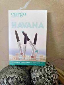 Cargo Havana Swimmables 4-Piece Longwear Shadow Stcks NIB!!