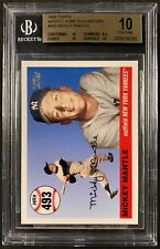 2006 Topps Mantle Home Run History #493 Mickey Mantle BGS 10 PRISTINE POP 1