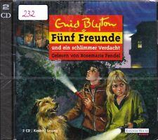 Enid Blyton + 2 CD-Set + Fünf Freunde und ein schlimmer Verdacht + Hörbuch + NEU