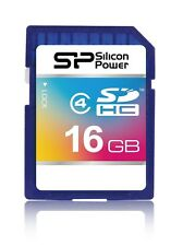 16GB Silicon Power Secure Digital SDHC scheda di memoria CL4
