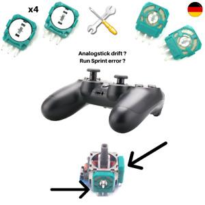 4x Thumbstick Drehwiderstand für PS4 | XBOX | Switch Pro Controller Sprint Error