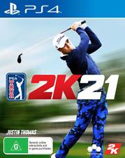 PGA Tour 2K21 PS4 Game NEW