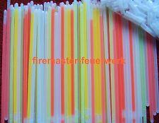 100 Bunte Knicklichter Leuchtstäbe Glow Light Sticks - je 20cm im Farbmix