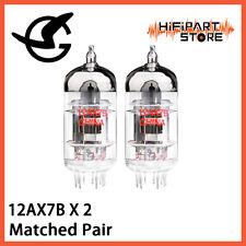 2pcs Shuguang 12AX7B Matched Pair Valve Tube Replace JJ Mullard Gold Lion ECC83
