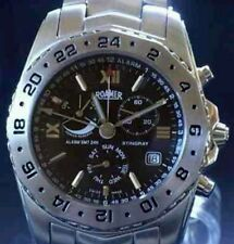 Roamer Stingray Para Hombre Cronógrafo Cuarzo BN de coleccionista raro de Alarma Reloj