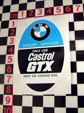 BMW Service Sticker - 2002 1602 1502 ti E12 E21 E23 E24
