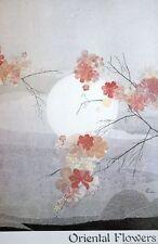 Oriental Flowers poster - 60x90cm, rare oriental poster, cool poster decor