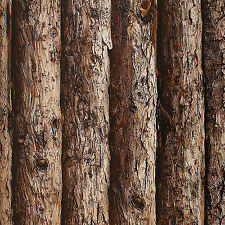 3D Wood/Tree Vinyl Wallpaper Thick Embossed Textured Paper Roll Wall Decor