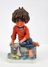 Michel T Vintage West German Goebel Figurine Mic 10 1971 Very Nice Big Eyes