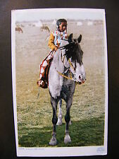 Tarjeta Postal Un joven crea Indian 11359 Indios América