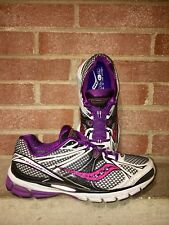 SAUCONY Progrid Guide 6 Running Shoe Purple / Black 10179-5 Sz-10/42