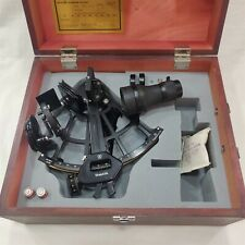 Tamaya Marine Sextant MS-3L with Replaced Binocular. Made in Japan