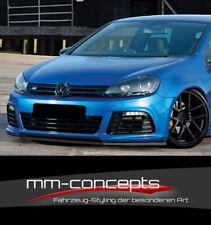 CUP Spoilerlippe für VW Golf VI 6 R 1K Frontspoiler Spoilerschwert Lippe ABS IN