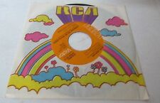 "JOHN DENVER (45) ""Sunshine On My Shoulder"" (RCA) original sleeve (1974) NM+"