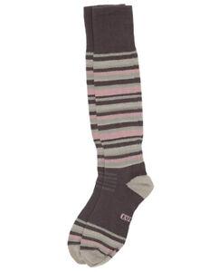 Eurosock Junior Superlight Ski Socks Charcoal/Rose Size XXS (13-1) ZP-5342