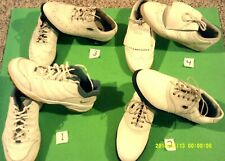 GUC,LADY'S GOLF SHOES, ALL SOFT CLEATS (YOU ARE  BUYING  1 PAIR  )
