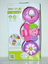 Infantino Pop & Play 3 Piece Activity Pods New in Box