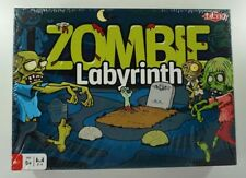 Tactic Zombie Labyrinth (Multi) Board Game (4 Player) Brand New in SEALED Box