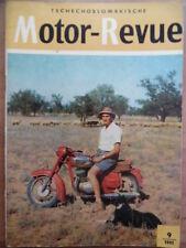 Tschechoslowakische MOTOR REVUE 9 - 1961 Jawa Moto-Cross Bickers Kambodscha