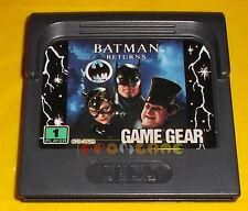 BATMAN RETURNS Sega Game Gear Return ○○○○○ SOLO CARTUCCIA